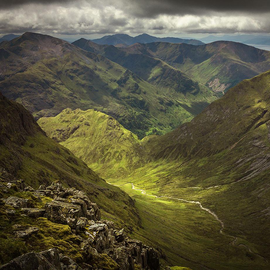 Classic UK landscape