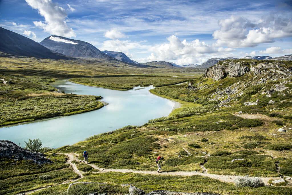 Trekking tips Classic landscape